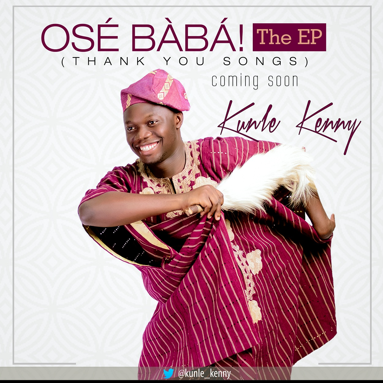 Kunle Kenny Reveals 'Ose Baba The EP…' Album Cover & Track-listing
