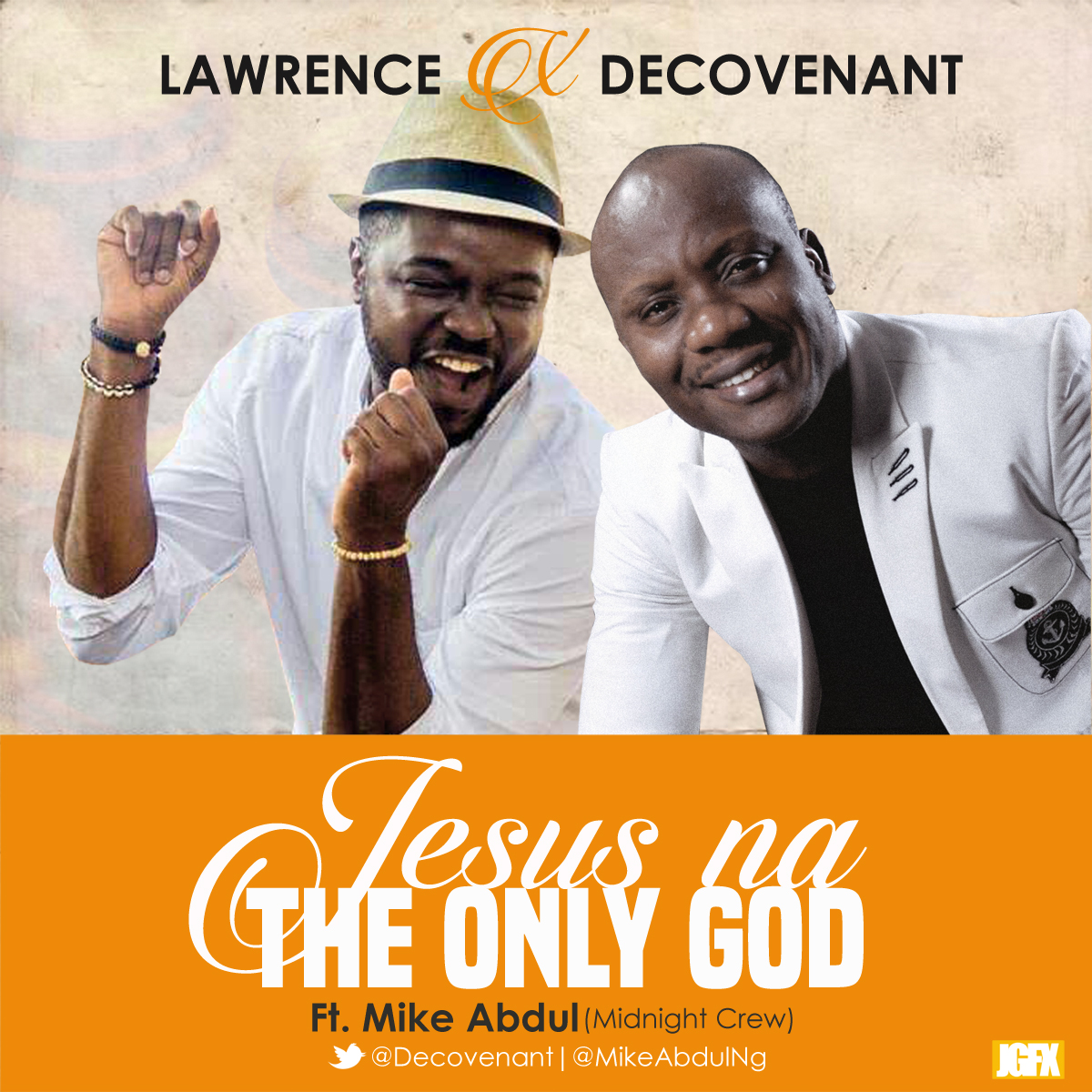 Lawrence Decovenant - The Onl _God