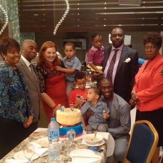 David Oyedepo, FEB Idahosa and family