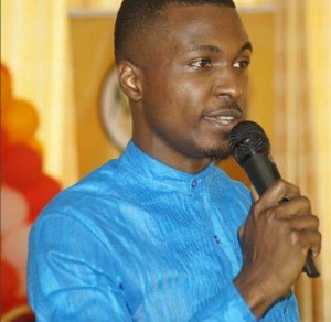 Tola Omoniyi speaking at the Conference