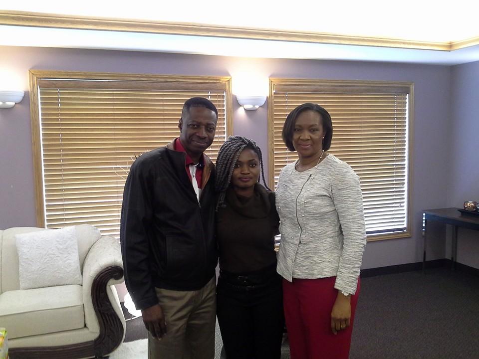 sam Adeyemi's wife and ruthina 2