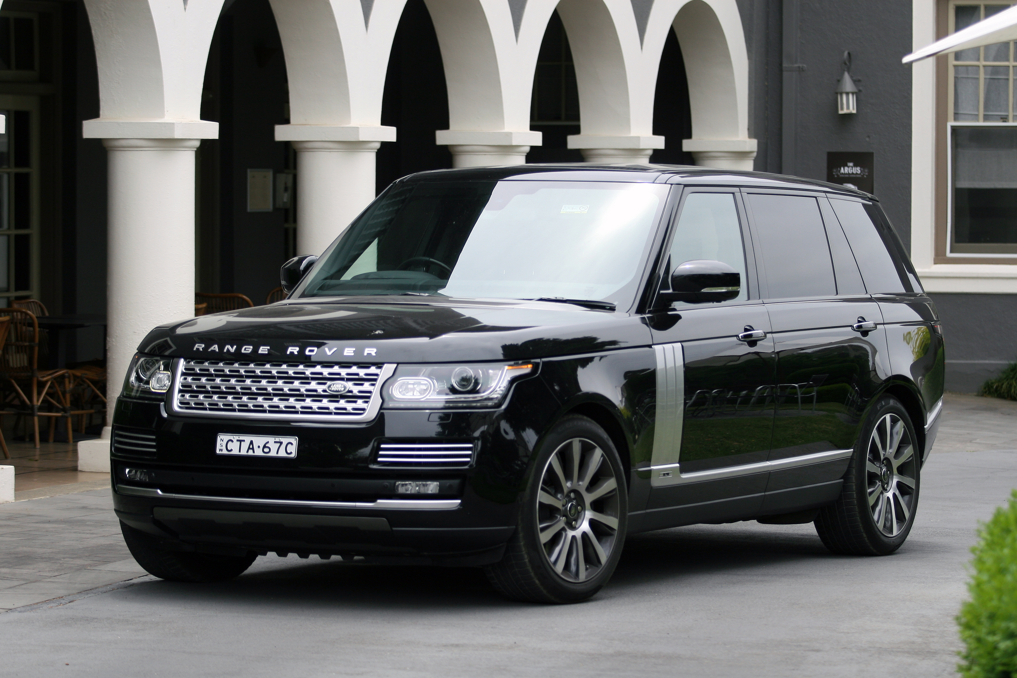 wilson joel collapses after receiving a brand new range rover autobiography. Black Bedroom Furniture Sets. Home Design Ideas