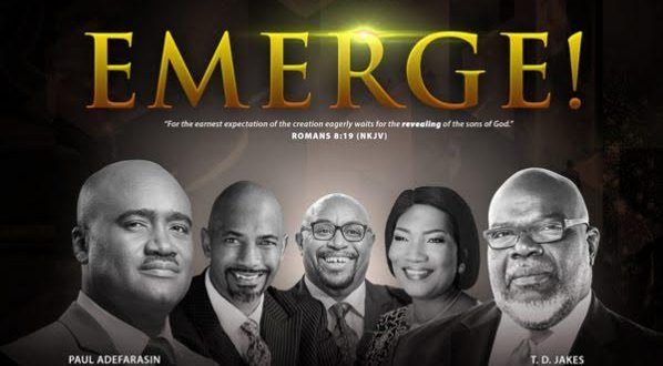 House on the Rock features TD Jakes, Funke Adejumo in EMERGE