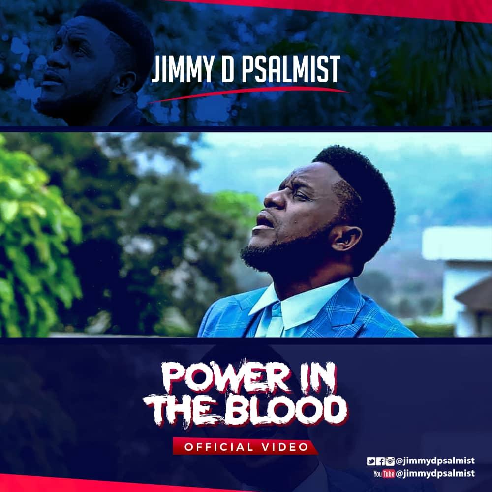 Power in the blood-Jimmy D Psalmist