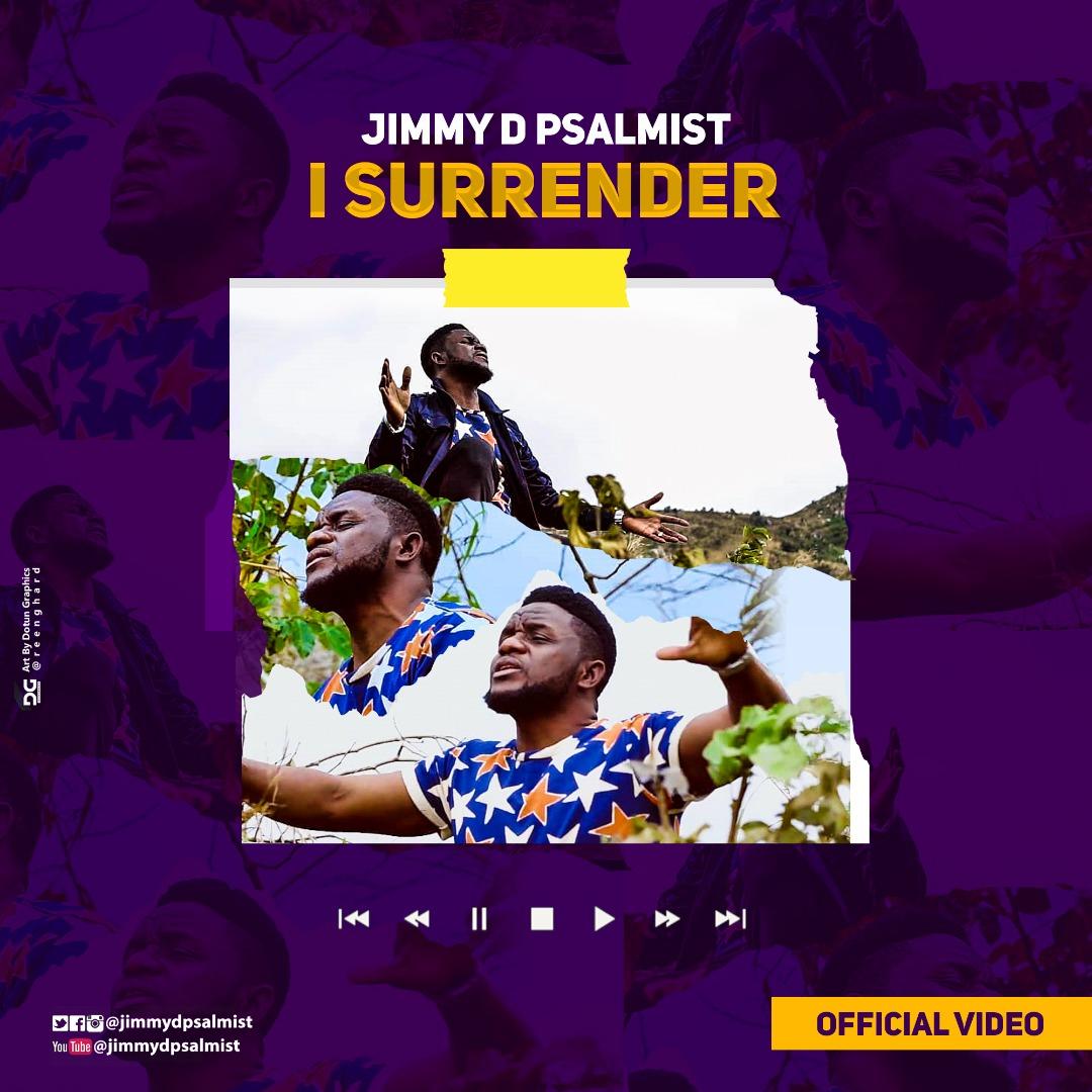 Jimmy D Psalmist I surrender art