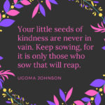 QUOTE ON SOWING SEEDS