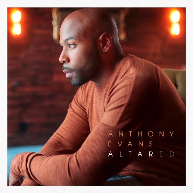 Anthony Evans Altared Album Cover