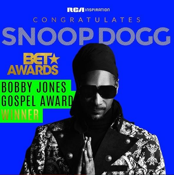 Snoop Dogg -Gospel Award