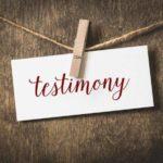 Testimony images