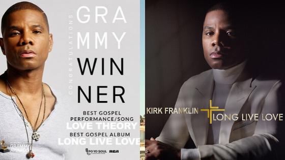 Kirk Franklin Grammy
