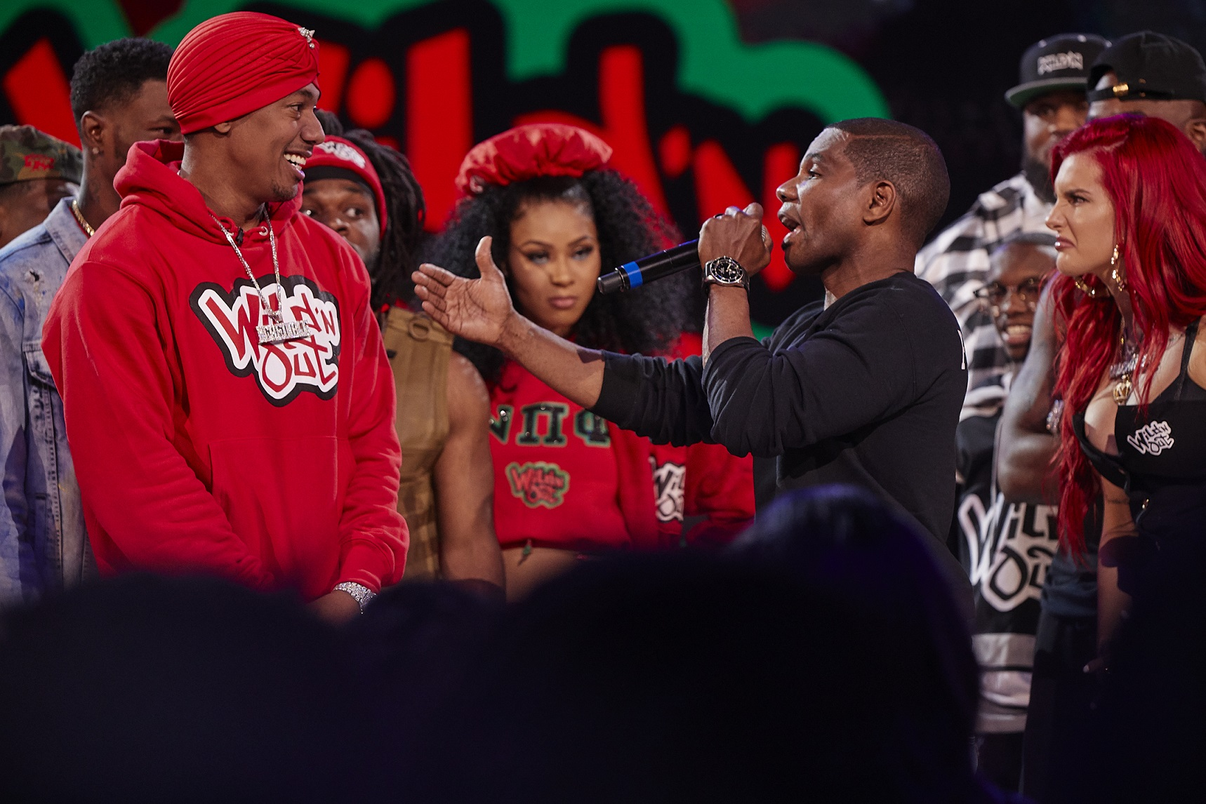 Kirk Franklin on Wild n Out