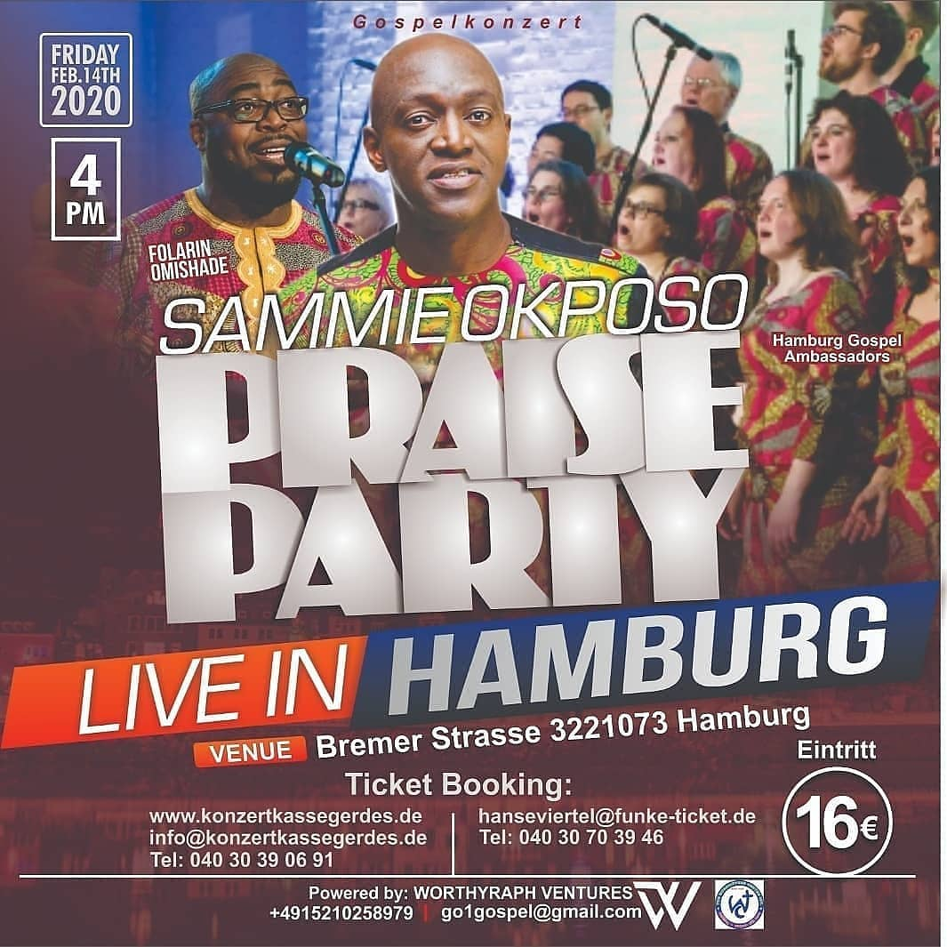Sammie Okposo in hamburg