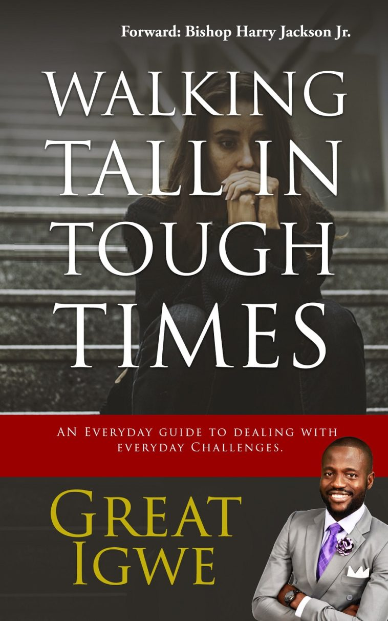 Great Igwe book cover - walking tall in tough times