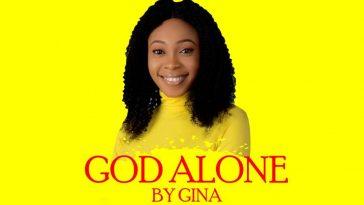 God Alone By Gina Art
