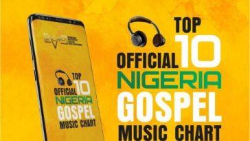 OFFICIAL TOP 10 NIGERIAN GOSPEL MUSIC CHART