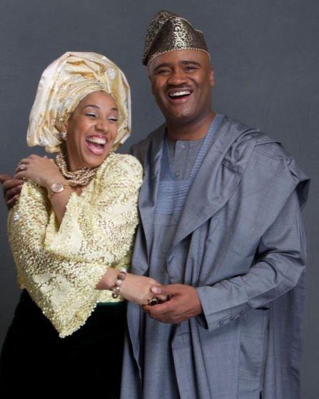 THE ADEFARASINS CELEBRATE 25 YEARS OF MARRIAGE
