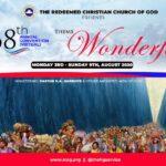RCCG 68TH ANNUAL CONVENTION