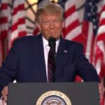 PRESIDENT TRUMP CITES GOD AS HE ACCEPTS NOMINATIONS