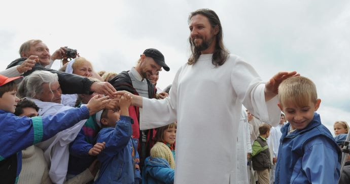 CULT LEADER CLAIMING TO BE CHRIST, ARRESTED BY RUSSIAN GOVT.