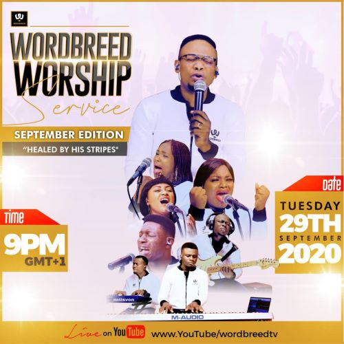 CHRIS SHALOM RELEASES SEPTEMBER EDITION OF WORDBREED WORSHIP SERVICE