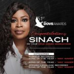 SINACH TO PERFORM AT THE 51ST ANNUAL GMA DOVE AWARDS