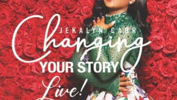 """JEKALYN CARR DROPS """"CHANGING YOUR STORY"""""""