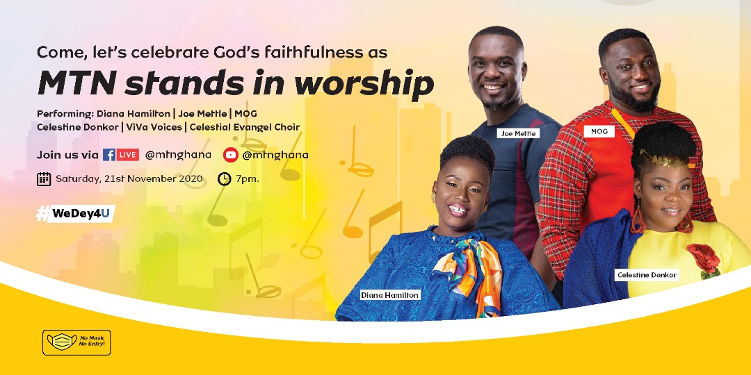 """EVENT: """"MTN STANDS IN WORSHIP"""" 2020"""