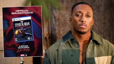LECRAE FEATURES ON NEW SPIDER-MAN VIDEO GAME SOUNDTRACK