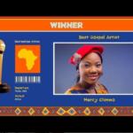 MERCY CHINWO WINS AFRIMMA AWARD