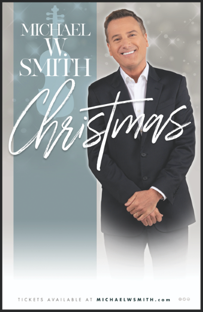 MICHAEL W. SMITH RETURNS WITH HOLIDAY TOUR!
