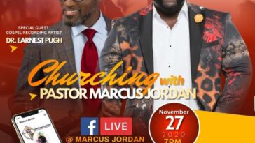 "EVENT: ""CHURCHING WITH PASTOR MARCUS JORDAN"""