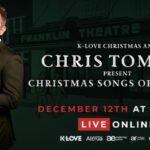 CHRIS TOMLIN SET FOR ONLINE CHRISTMAS SPECIAL